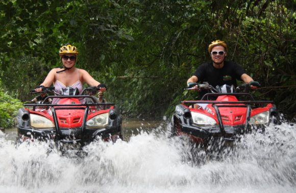 Kiwengwa Quad Adventure from Matemwe