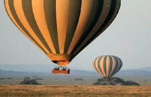 Tanzania Helicopter & Balloon Tour