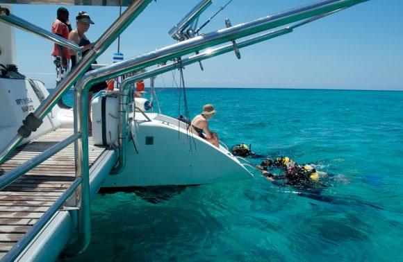Zanzibar Channel Cruise by Luxury Catamaran Including Lunch