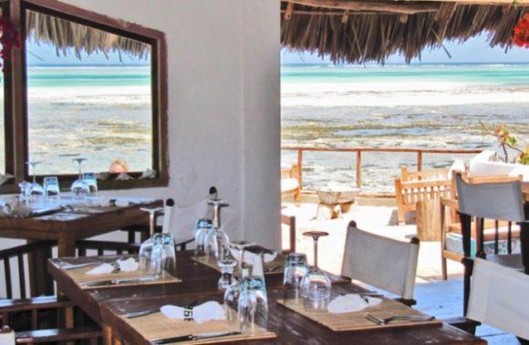 Rock Restaurant Sunset Dinner from Stone Town
