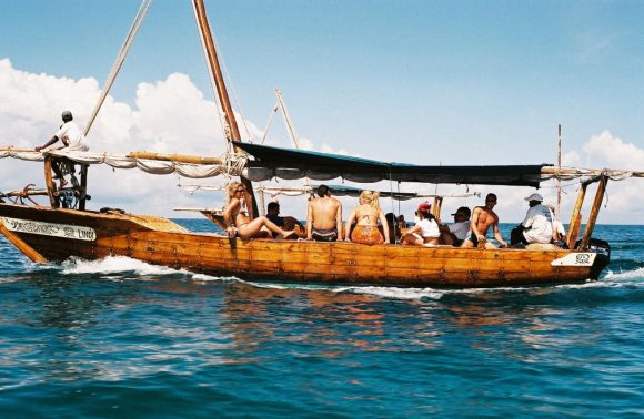 Sail Over Mangapwani Beach Restaurant