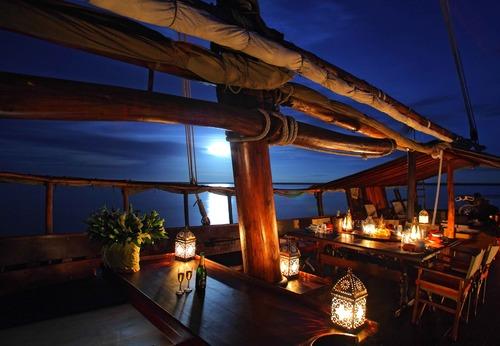 Exclusive Zanzibar New Year's Eve Luxury Dinner Dhow Cruise
