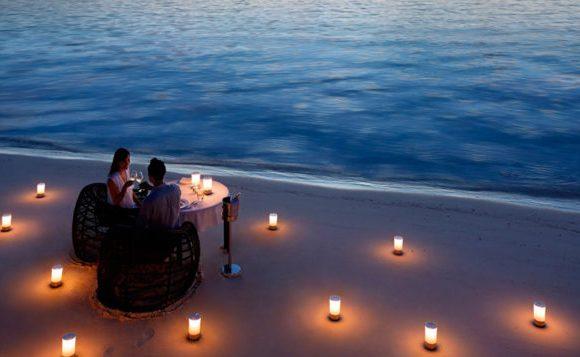Romantic Beach Dinner at The Palm Zanzibar