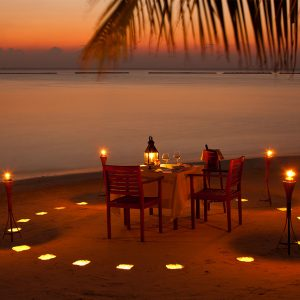 Private 03-Course Candlelight Dinner at Melia Zanzibar