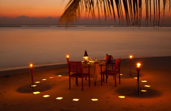 Private 03-Course Candlelight Dinner at Melia Zanzibar