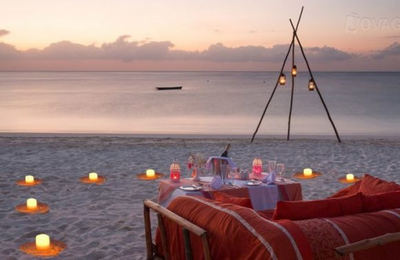 Dinner on the Beach at Fruit & Spices Resort