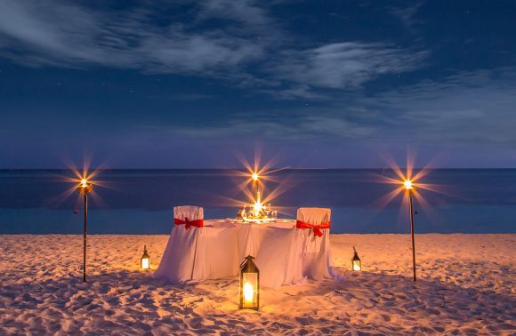 Candlelight Dining Experience at Essque Zalu Hotel