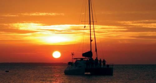 Catamaran Sunset Cruise from Kendwa Beach