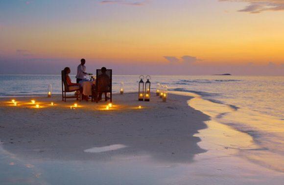Candlelight Dinner at The Residence Zanzibar