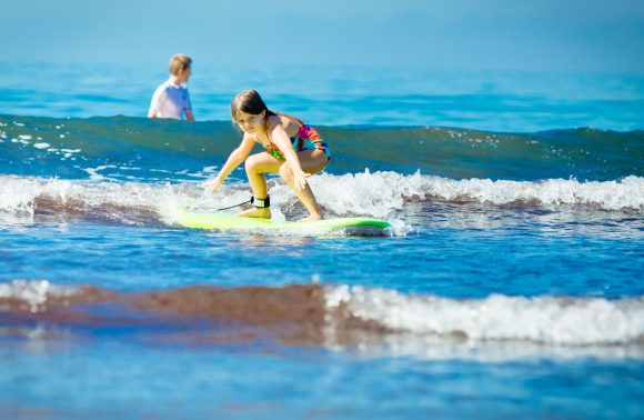 Surf lesson in Paje Beach from Michamvi Hotels