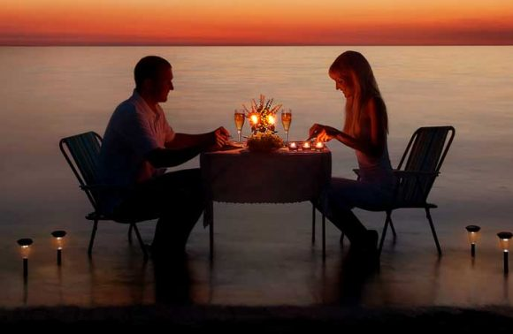Private 03-Course Romantic Candlelight Dinner at Dream of Zanzibar