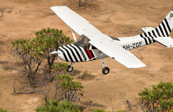 Deluxe Selous Game Reserve Airplane Tour