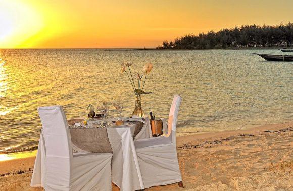 Romantic 03-Course Dinner for Two at Kilindi Zanzibar