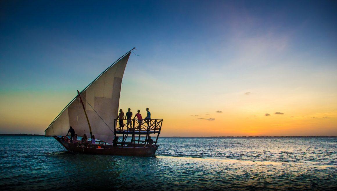 Sundowner Dhow Cruise in Zanzibar