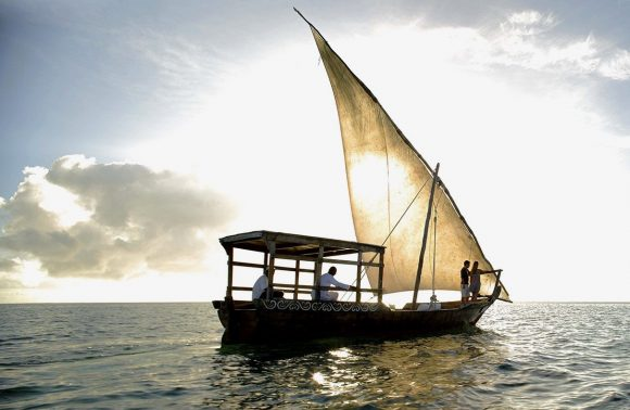 New Year's Eve Family Dhow Cruise through Zanzibar Harbor