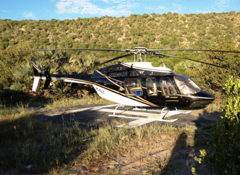 Ruaha National Park Helicopter Tour from Arusha Town