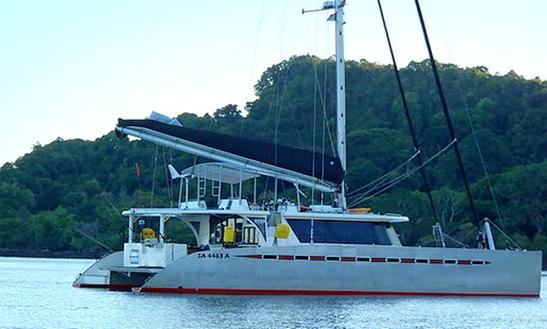 Chwaka Bay Sunset Catamaran Cruise