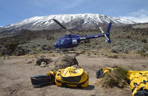 Kilimanjaro Night Strip Helicopter Tour