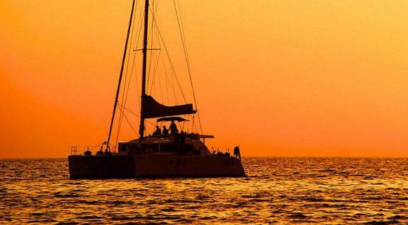 Sunset Catamaran Cruise in Paje Village