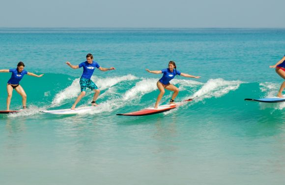 Surf lesson in Paje Beach from The Residence Zanzibar