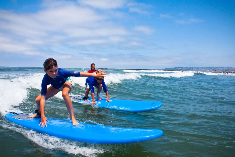 Surf lesson in Paje Beach from Kiwengwa Hotels