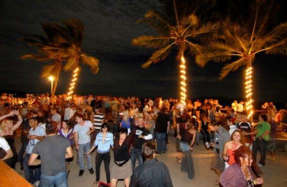 Local Full Moon Party in Kendwa Rocks