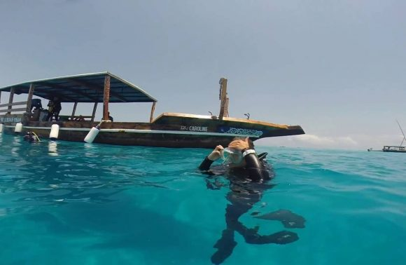 Half-Day Discover Freediving in Zanzibar